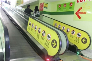 Thang máy và thang cuốn tại các trung tâm bán lẻ